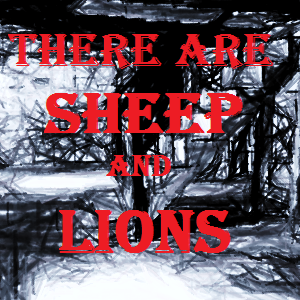 there are sheep and lions